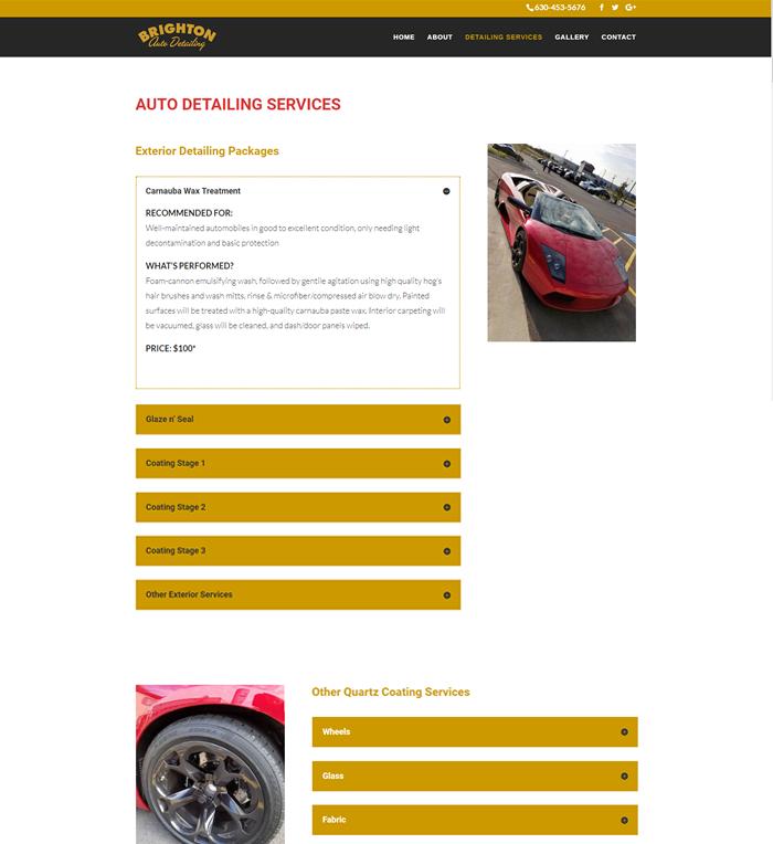 Brighton Auto Detailing Services