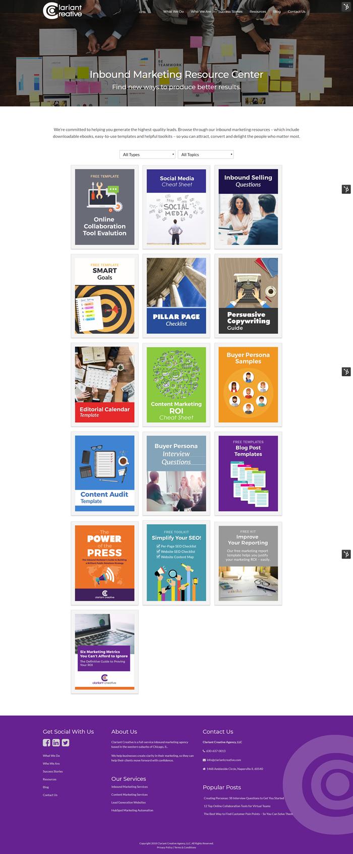 Clariant Creative Resources
