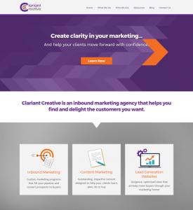 Clariant Creative Website