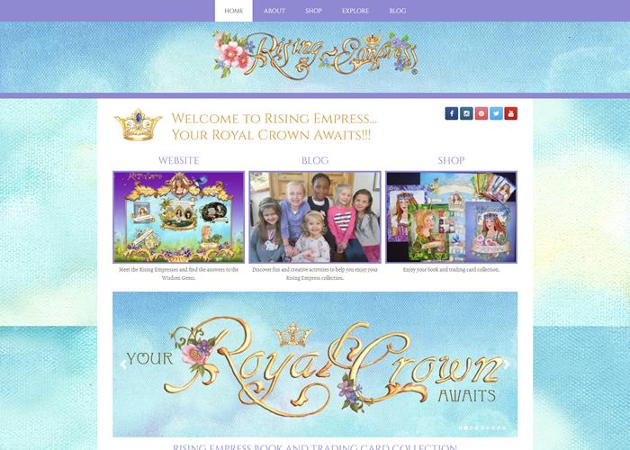 Rising Empress Website
