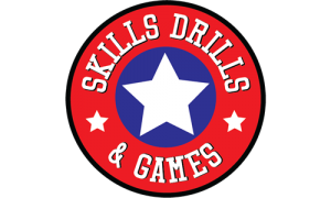 Skills, Drills & Games Logo