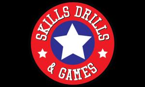Skills, Drills & Games Logo